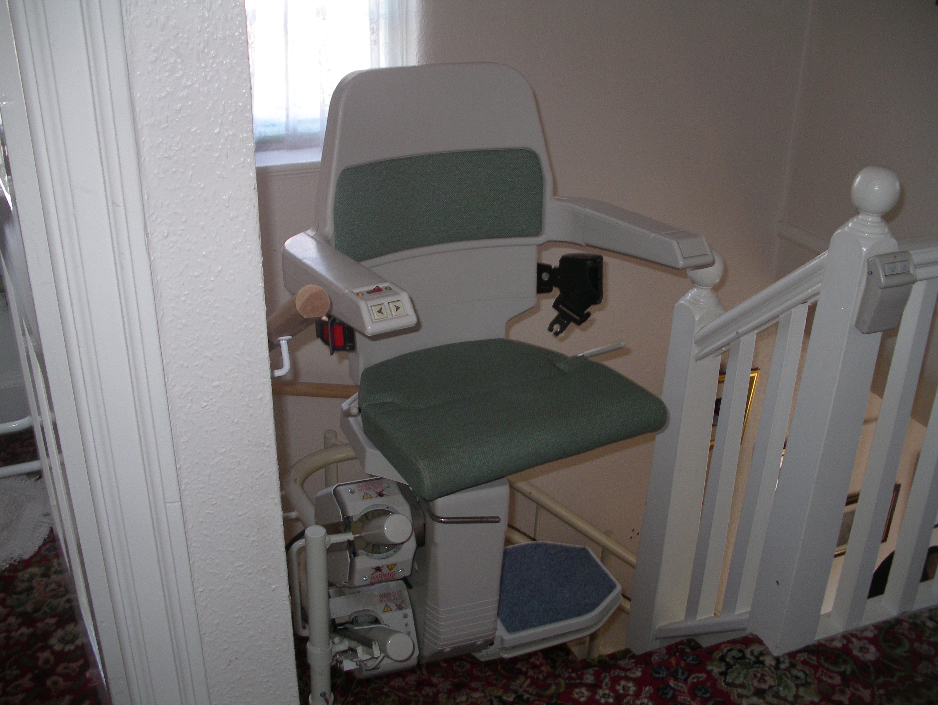 Great British Stairlifts Curved Stannah 260 North Wales
