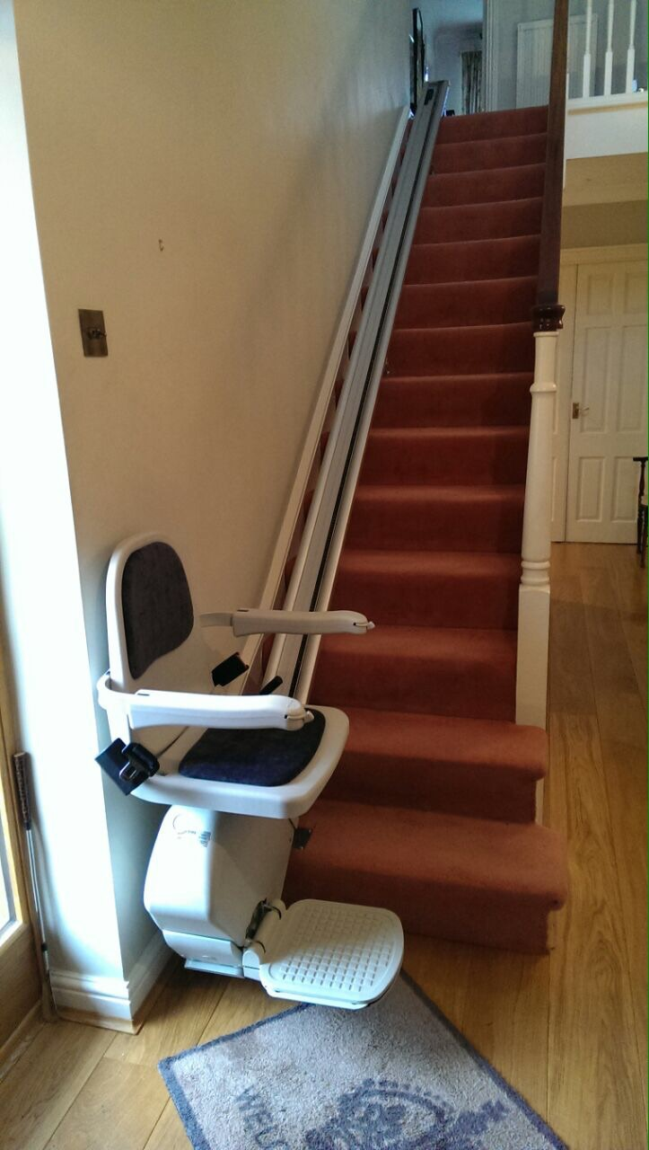 Great British Stairlifts Acorn Straight Stair Lift